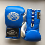 Royal blue/Silver Boxing Gloves