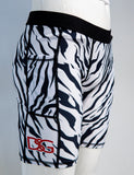 White Tiger Compression Shorts.