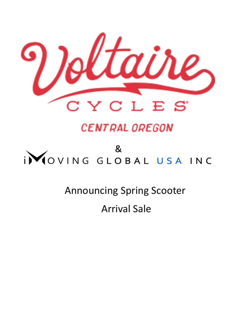 The most robust and most support scooter on the market, sold by Voltaire Cycles of Central Oregon the first to have a back pack portable electric scooter