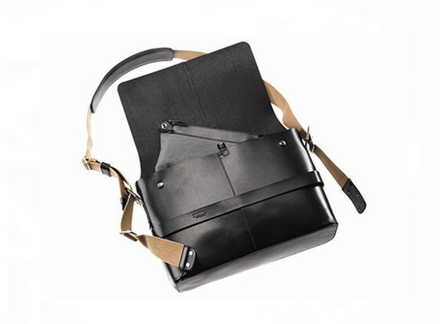 Brooks Barbican Leather Messenger Bag-Voltaire Cycles