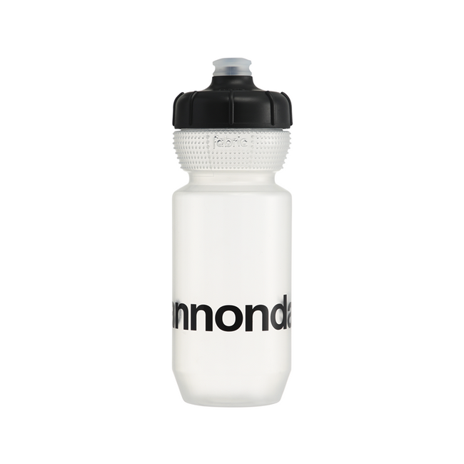 Cannondale Logo Gripper Bottle-Bicycle Water Bottles-Cannondale-Voltaire Cycles of Highlands Ranch Colorado