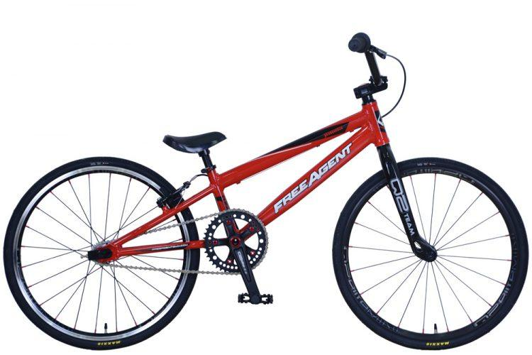 Free Agent Team Junior BMX Bike - 2019-Voltaire Cycles