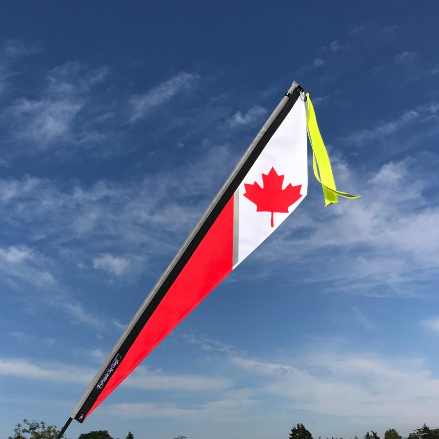 Canadian Flag for Recumbent or Electric Bicycle-Voltaire Cycles