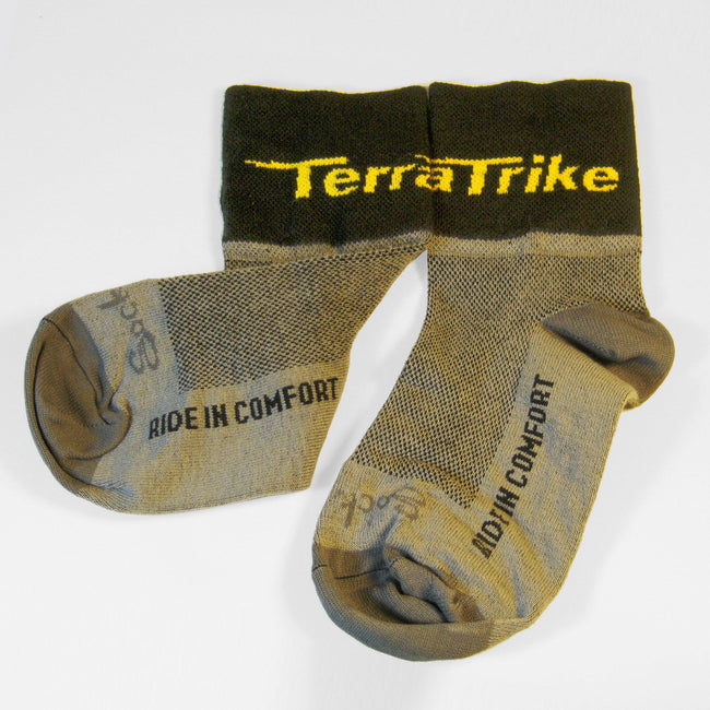TerraTrike Socks – Grey-Voltaire Cycles