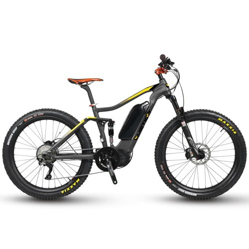 QuietKat Quantum Electric 1000W/750W All Mountain Bike 27.7 Plus Tires with Dropper Post