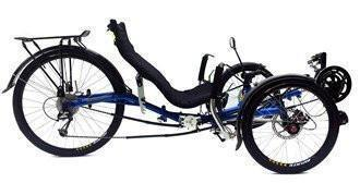 "Trident Trikes Transport 26"" Recumbent-Voltaire Cycles"