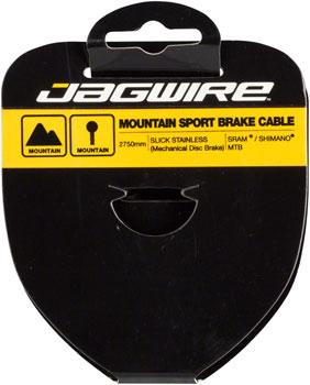 Jagwire Sport Brake Cable Slick Stainless 1.5x3500mm SRAM/Shimano Mountain Tandem-Voltaire Cycles