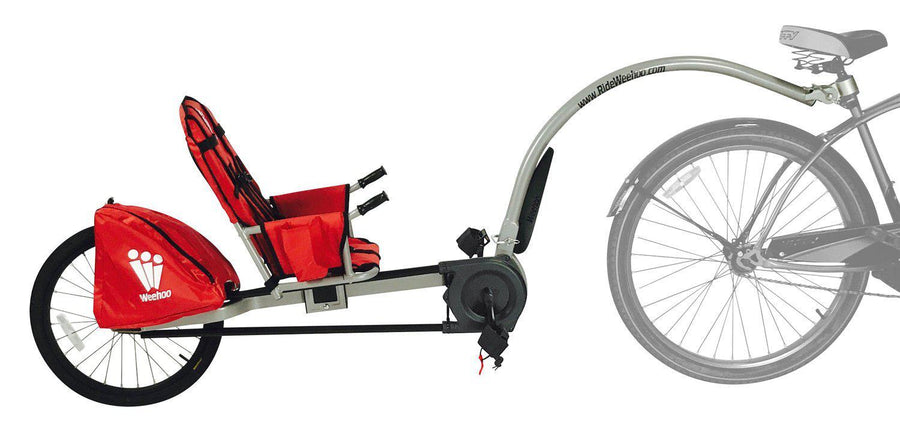 Weehoo Turbo Bike Trailer - Children's Seat for Bicycle-Voltaire Cycles