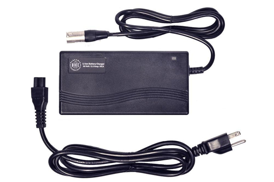 CHARGER LI-ION 36V 2.5A XLR-Voltaire Cycles