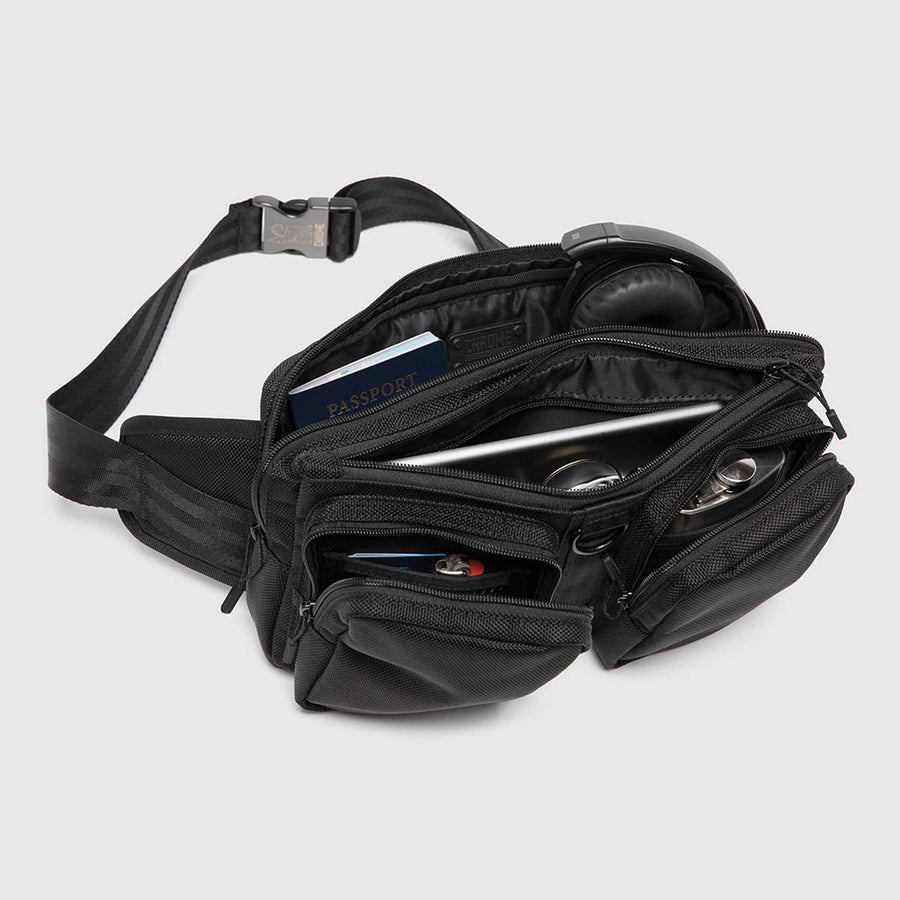 Chrome MXD Notch Sling Bag-Voltaire Cycles
