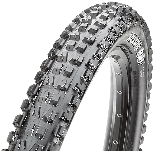 Maxxis Minion DHF 26 x 2.30 Tire, Folding, 60tpi, Dual Compound, EXO, Tubeless Ready-Voltaire Cycles