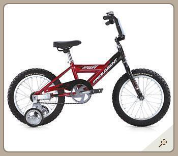 Free Agent Lil Speedy Kids Bicycle (Red)-Voltaire Cycles