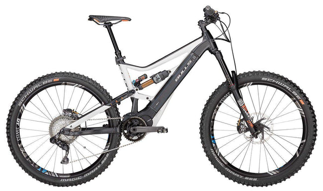 Copy of Bulls eMTB FULLY E-Core EVO EN Di2 27.5 Plus - DISPLAY MODEL-Electric Bicycle-Bulls-Voltaire Cycles of Verona