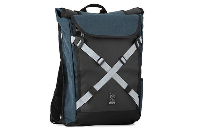 Chrome Bravo Backpack 2.0 Indigo/Jade-Voltaire Cycles