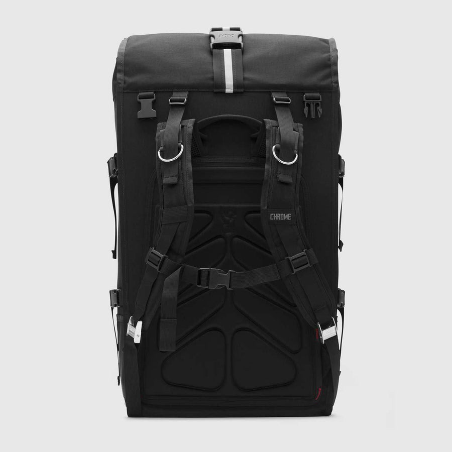 Chrome Barrage Pro Backpack Black/Red-Voltaire Cycles