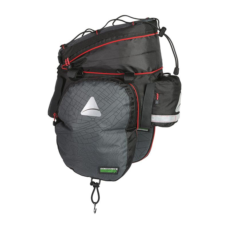 Axiom Seymour Oceanweave EXP 19+ Bicycle Rear Trunk Bag-Voltaire Cycles