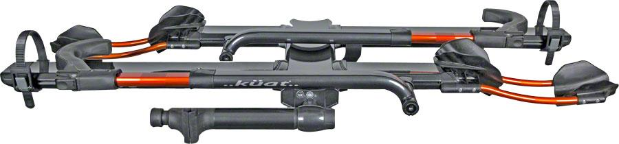 "Kuat NV 2.0 2-Bike Tray Hitch Rack: 1 1/4"" Receiver-Voltaire Cycles"