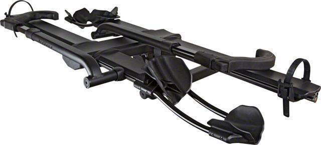 "Kuat NV 2.0 Base 2-Bike Tray Hitch Rack: Sandy Black, 2"" Receiver-Voltaire Cycles"