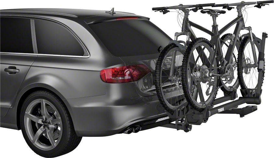 "Thule 9035XTB T2 Pro XT 1.25"" Hitch Rack: 2-Bike-Voltaire Cycles"