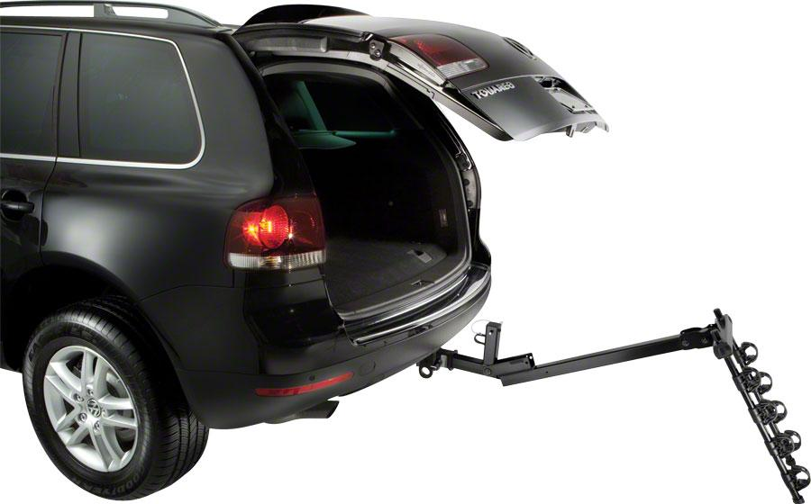 "Thule 957 Parkway 1.25"" Receiver Hitch Rack: 4-Bike-Voltaire Cycles"
