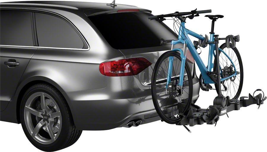 "Thule 9054 Doubletrack Pro 1.25"" or 2"" Hitch Rack: 2-Bike-Voltaire Cycles"