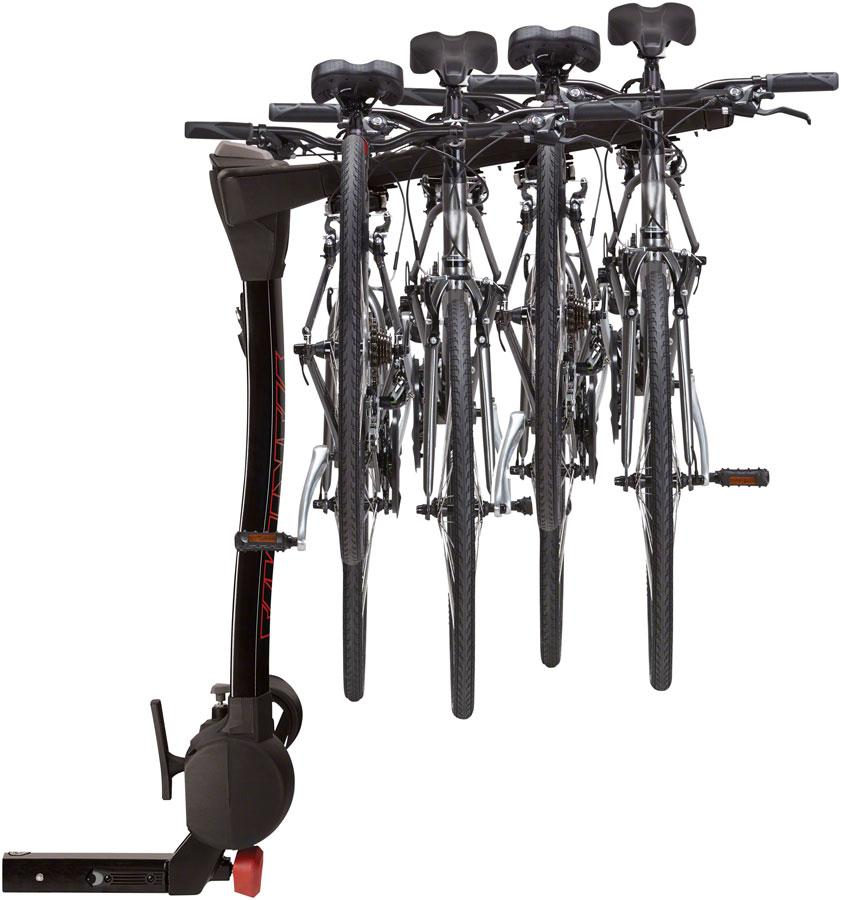 "Yakima FullSwing 2"" Receiver Hitch Rack: 4-Bike-Voltaire Cycles"