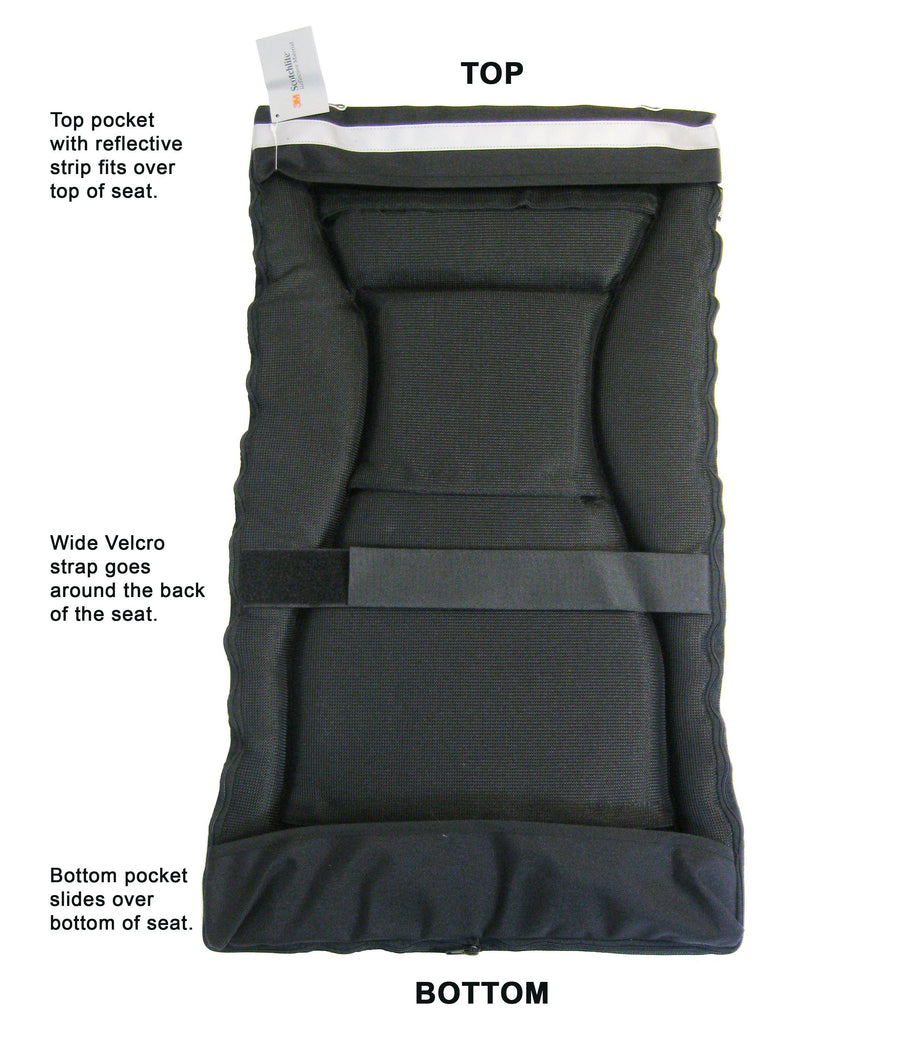 "TerraTrike ""Super Comfortable"" Seat Pad-Voltaire Cycles"