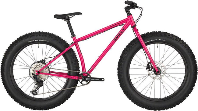 Surly Ice Cream Truck Trail Ready, Maximum Tire Clearance Fat Bike-Voltaire Cycles