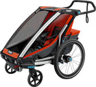 Thule Chariot Cross 1 Trailer and Stroller: Roarange, 1 Child-Voltaire Cycles