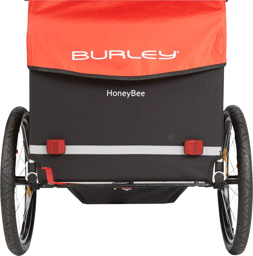 Burley Honey Bee Child Trailer Red-Voltaire Cycles