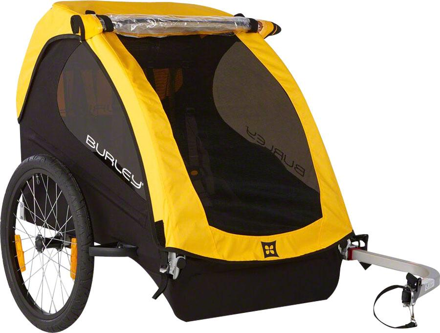 Burley Bee Child Trailer Yellow-Voltaire Cycles