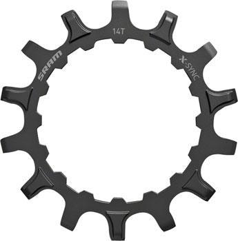 SRAM X-Sync EX1 Sprocket Chainring for Bosch Motors 14T Straight Steel-Voltaire Cycles