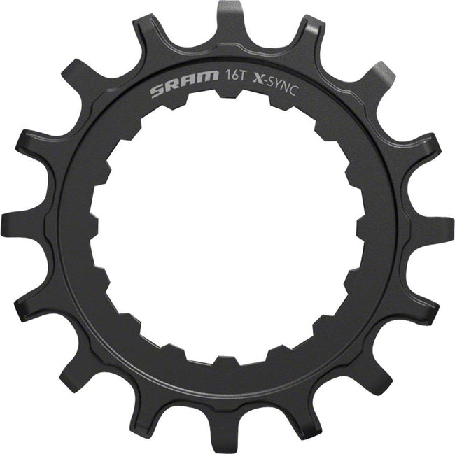SRAM X-Sync EX1 Sprocket Chainring for Bosch Motors 16T Straight Steel-Voltaire Cycles