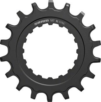 SRAM X-Sync EX1 Sprocket Chainring for Bosch Motors 18T Straight Steel-Voltaire Cycles