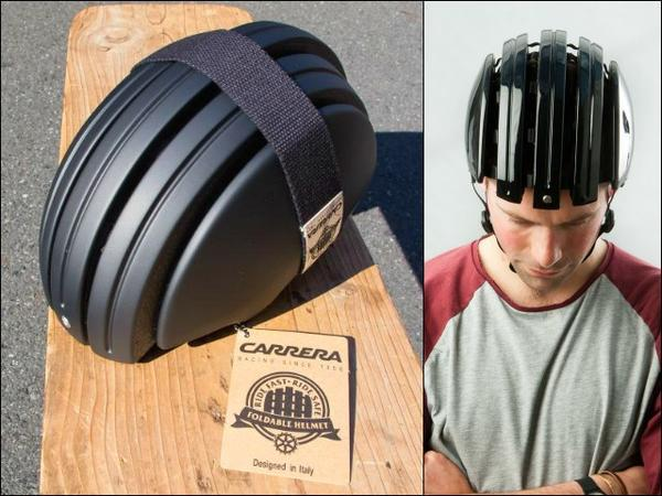 Brooks Carrera Foldable Bicycle Helmet-Voltaire Cycles