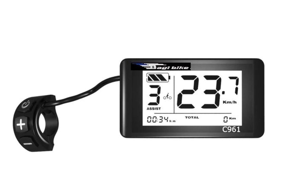 Bagi Bike LCD Display-Bagibike C961-The Electric Spokes Company