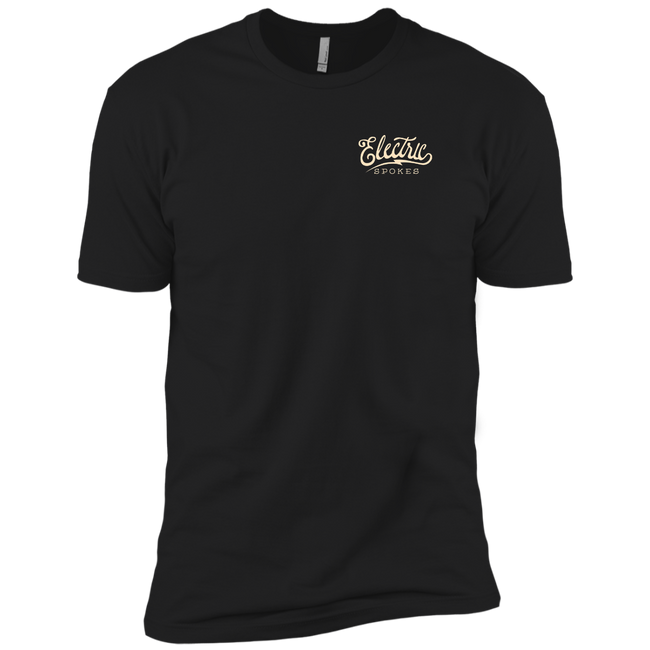 The Voltaire Cycles Co Next-Level Company T-shirt-Voltaire Cycles