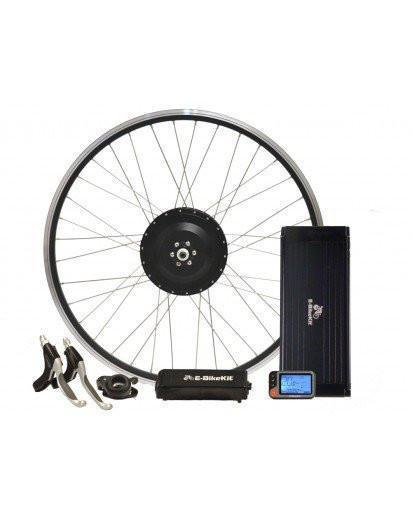 Performance Lithium E-BikeKit REAR Wheel 12-26 Mile Range 20MPH w/ 36v LiFePO4 Battery-Voltaire Cycles
