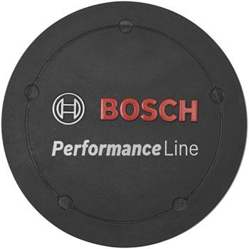 Bosch Performance Line Logo Cover - Black, BDU2XX-Voltaire Cycles