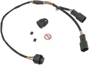 Bosch Dual Battery Y-Adapter - 515/430mm cable, Charging Socket, BDU2XX, BDU3XX-Voltaire Cycles