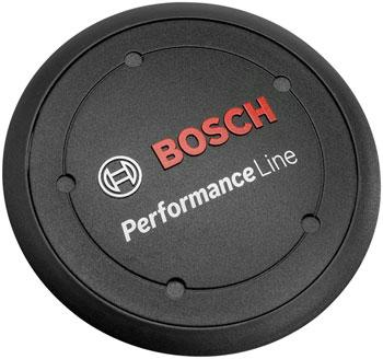 Bosch Performance Line Logo Cover - Black, Rectangular, BDU2XX-Voltaire Cycles