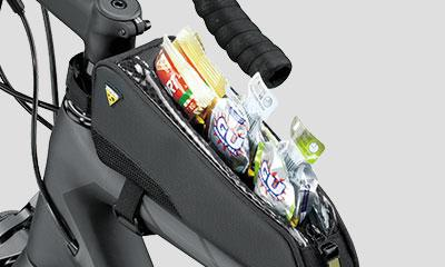 Topeak FastFuel Tri Frame Bag Medium for Bicycle-Voltaire Cycles