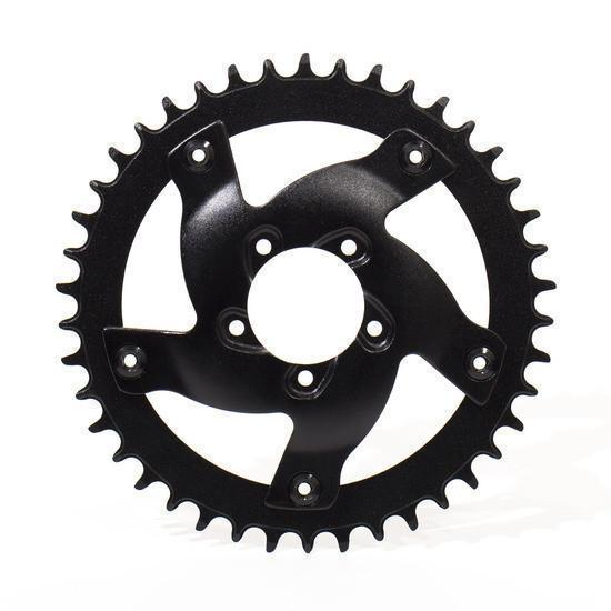 BBSHD Aluminum Chainring Adapter and 42T Sprocket-Voltaire Cycles