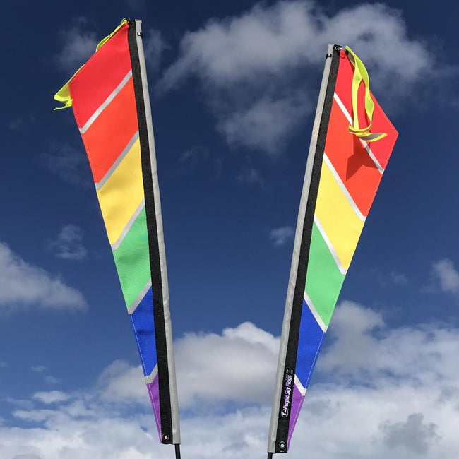 Pride Flag for Recumbent or Electric Bicycle-Voltaire Cycles