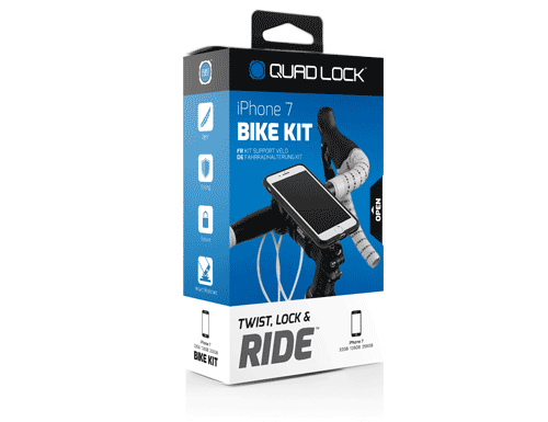 QuadLock iPhone 7/8 Bike Kit by Annex-Voltaire Cycles