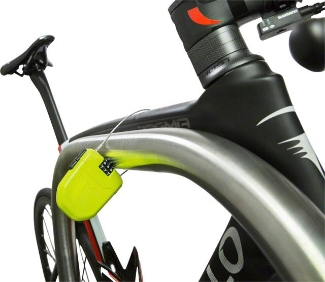 Hiplok wearable Cable Lock for Cyclists or Backpackers-Voltaire Cycles