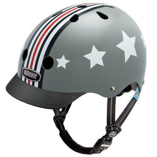 Nutcase Silver Fly (Little Nutty) Children's Bicycle Helmet-Voltaire Cycles