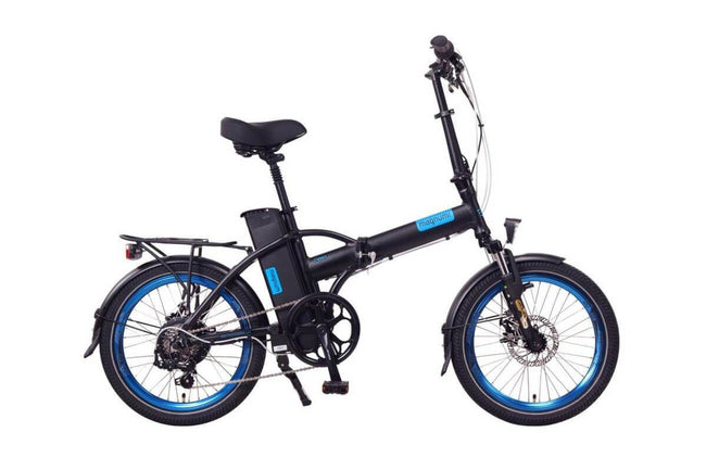 Magnum Classic II High Step Folding Electric Bike-Electric Bicycle-Magnum-Voltaire Cycles of Verona