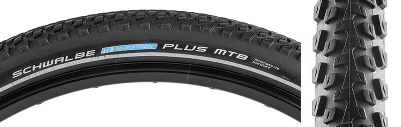 Schwalbe Marathon Plus MTB Performance Twin SmartGuard 27.5 x 2.10 Bicycle Tire-Voltaire Cycles