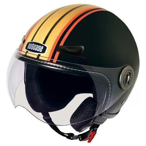 Nutcase MOTO Stumptown Woody Bicycle/Scooter Helmet (Open Box)-Voltaire Cycles
